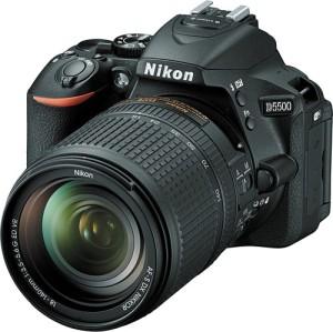 Nikon D5500 DSLR Camera (Body with 18 - 140 Lens)