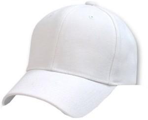 8697743f586 Babji Solid White Plain Nylon Baseball Cap Best Price in India ...