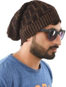Tiekart Self Design Woollen Cap