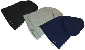 bda48de80 Sovam soft Winter Woolen Long Cap Pack of 3 Best Price in India ...