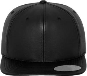Alamos Self Design Leather Snapback HipHop Cap
