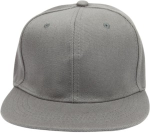 88bafda7668 ILU Solid Plain Formal Grey Caps Baseball caps Hip Hop Caps men women girls  boys Snapback Best Price in India