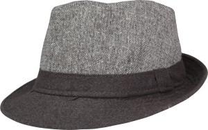 3aeff417f44 FabSeasons Solid Fedora Hat Cap Best Price in India