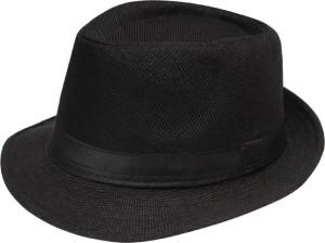 FAS Black Fedora Hat Cap