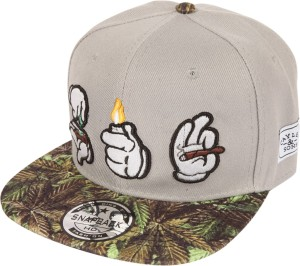 af73b1c87e2 ILU Embroidered 3D Roll Light Smoke Snapback baseball Hip Hop ...