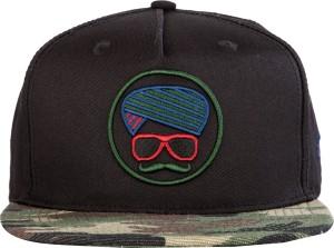 b403b1f3d6a Urban Monkey Solid Black Baseball Cap Cap