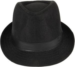 Eccellente Solid Fedora Hat Cap