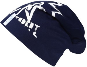 ea905f04871 Noise Rocky Rocks Blue Beanie With Ring Printed Skull Cap Best Price ...