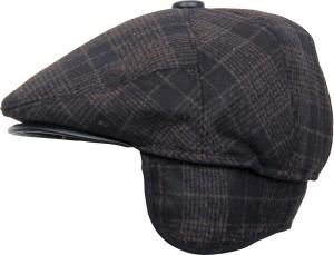 Clareo Checkered Flat Cap