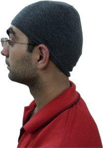 Gajraj Solid Helmet (Skull) Cap