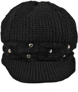 Tiekart Embellished Woollen Cap