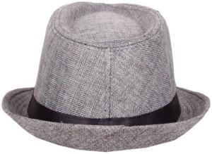 Tiny Seed Solid Self Design Fedora Hat Cap Best Price in India ... 7c0d0e1e23e