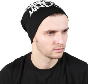 Noise Genuine Urban Minds Beanie-Black Printed Skull Cap
