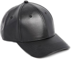 Huntsman Era Faux Leather Baseball Cap