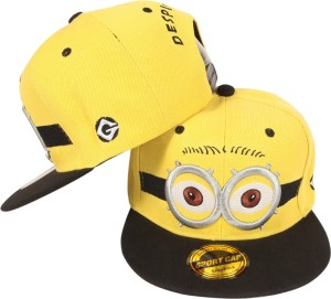 503e61285a2 ILU Embroidered Minions Despicable me Snapback baseball Hip Hop Trucker Hat  Caps Cap Best Price in India