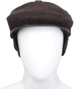 Tahiro Skull, Cotton Plus Woolen Golf Cap, Beret, Golf Cap Cap