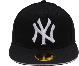 Sushito Solid N Y Black Hip Hop Cap Best Price in India  3ab28e607e8