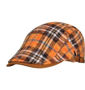 16f3d5ca3 FabSeasons Checkered Flat Golf Cap