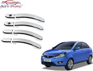 Auto Pearl Premium Quality Chrome Door Handle Latch Cover Tata Zest