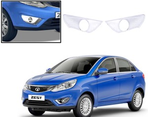 Auto Pearl Premium Quality Chrome Plated Fog Lamp Cover For Tata Zest Car Grill Coverplastic Tata Zest
