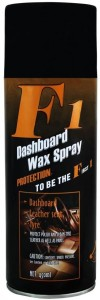 F1 F1 Dashboard Wax Polish Spray & Shiner for Leather, Dashboard, Plastic, Rubber and Tyres 20487 Vehicle Interior Cleaner