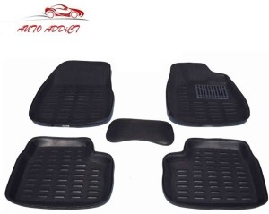Auto Addict Plastic Car Mat For Maruti Suzuki New Dzire Black Best