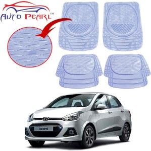 Auto Pearl Plastic Standard Mat For Hyundai Xcent White Best Price