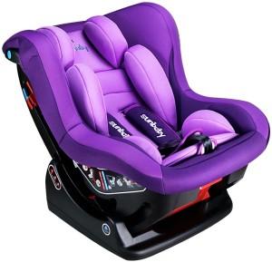 Sunbaby Rearward Forward Facing Reclining Car SeatPurple