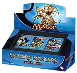 Magic The Gathering Mtg Modern Masters 2015 Booster Boxblue