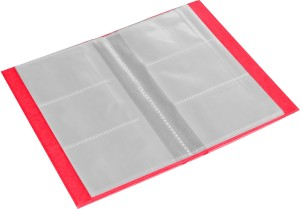 Ecoleatherette 3 visiting card book 120 card holder set of 1 pink eco leatherette 3 visiting card book 120 card holder reheart Image collections