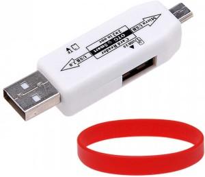 Entif OTG Smart Card Reader Connection Kit - Wh Card Reader
