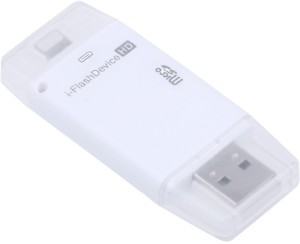 True Deal i-Flash Device HD SD Memory OTG Adapter USB 8-pin Port Memory Stick Card Reader