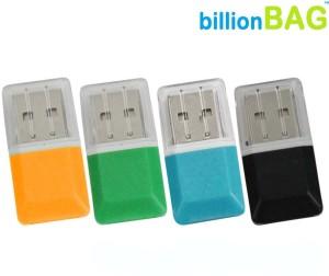 BillionBAG Multi-color Micro Card Reader