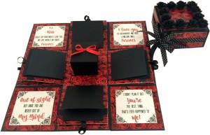 crack of dawn crafts-3 layered romantic explosion box