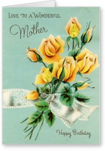 Lolprint Happy Birthday Yellow Roses Greeting Card Multicolor Pack