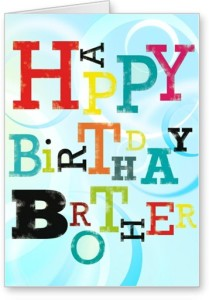 Lolprint Happy Birthday Brother Greeting Card Multicolor Pack Of 1