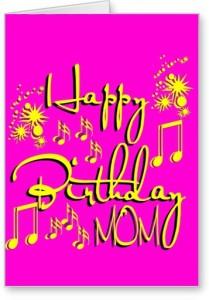 Lolprint Mom Happy Birthday Greeting Card
