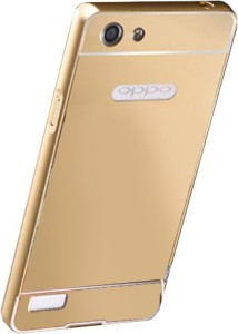 new product 0164a 46b62 MICA ACCESSARIES Back Cover for Oppo Neo 7Golden