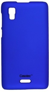 the latest ea40b d80a0 Casotec Back Cover for Micromax Canvas Doodle 3 A102Dark Blue