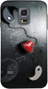 Casotec Back Cover for SAMSUNG Galaxy S4 Mini