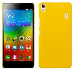 new concept 4dc6c 0a006 Unistuff Back Cover for Lenovo K3 NoteYellow