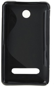 sports shoes b6587 1c2ec S Hardline Back Cover for Nokia Asha 210 Black Best Price in India ...