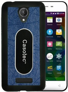 free shipping bd6c1 4539e Casotec Back Cover for Micromax Canvas Spark Q380Dark Blue