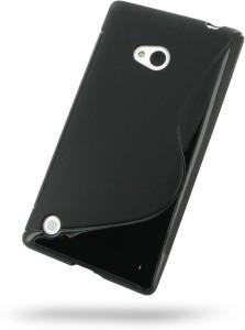 the best attitude c5d22 d3da0 Fuson Back Cover for Nokia Lumia 720Black