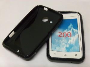 brand new ddd92 7c42f ARCENT Back Cover for Nokia Asha 200Black, Plastic