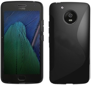 size 40 05256 8b3e6 Wellpoint Back Cover for Motorola Moto G5 PlusBlack