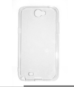 new style e930e dcc53 Coni Back Cover for Samsung Galaxy Note 2 N7100 TransparentClean