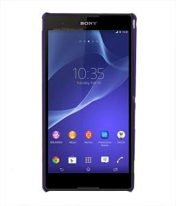 best service 61dd7 01918 Coverage Back Cover for Sony Xperia T2 Ultra DualPurple