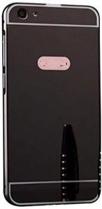 official photos 507d6 349e4 Ifra Back Cover for Mirror Back Cover Case For-Vivo 1603-BlackBlack