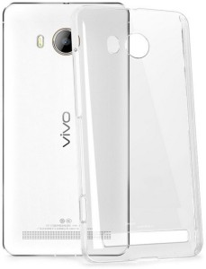 Mobicharge Back Cover for Vivo Y11Transparent